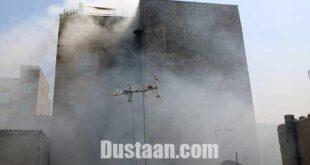 نجات اعضای دو خانواده از آتش توسط مامور فداکار