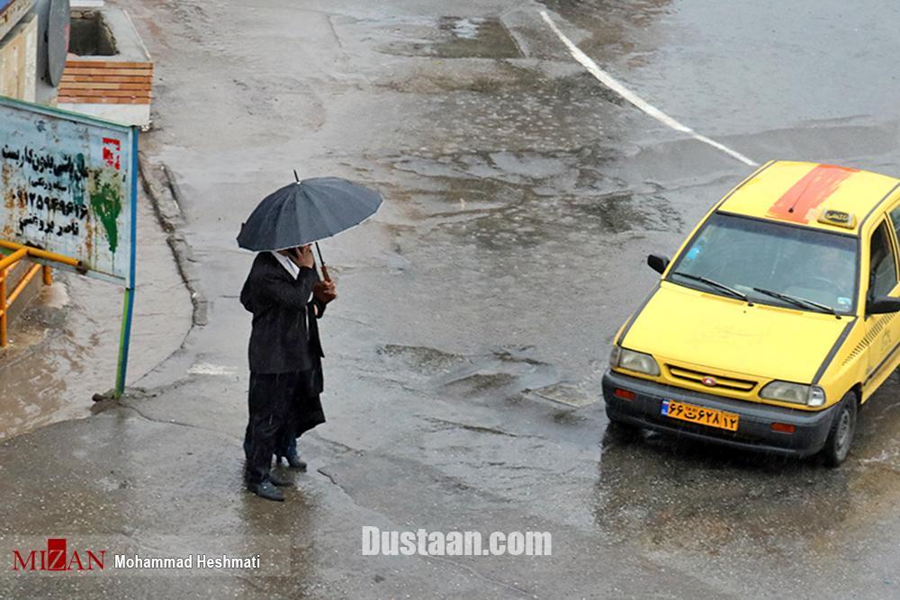 پیش بینی بارش باران در 14 استان کشور