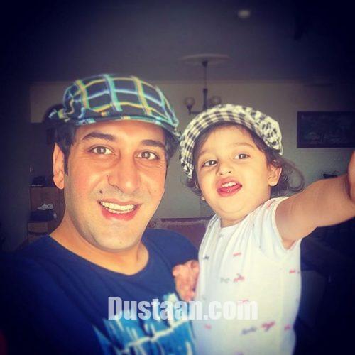 www.dustaan.com تصویری جدید از وحید شیخ زاده و همسرش