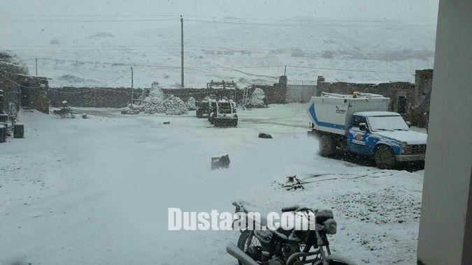 هوا شناسی شهرستان خوی بارش برف شهرستان خوی را سفید پوش کرد! +تصاویر - مجله ...