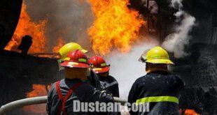 اخبارحوادث,خبرهای  حوادث,انفجار در کارخانه فولاد