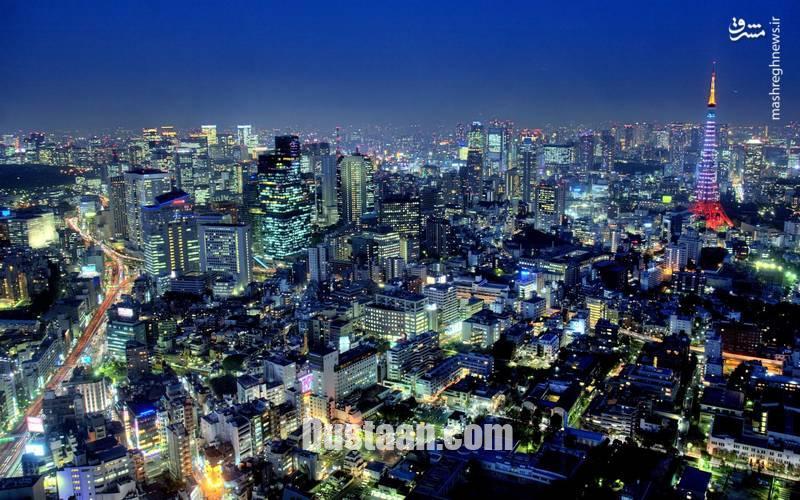 www.dustaan.com نمایی بسیار زیبا از پایتخت ژاپن +عکس