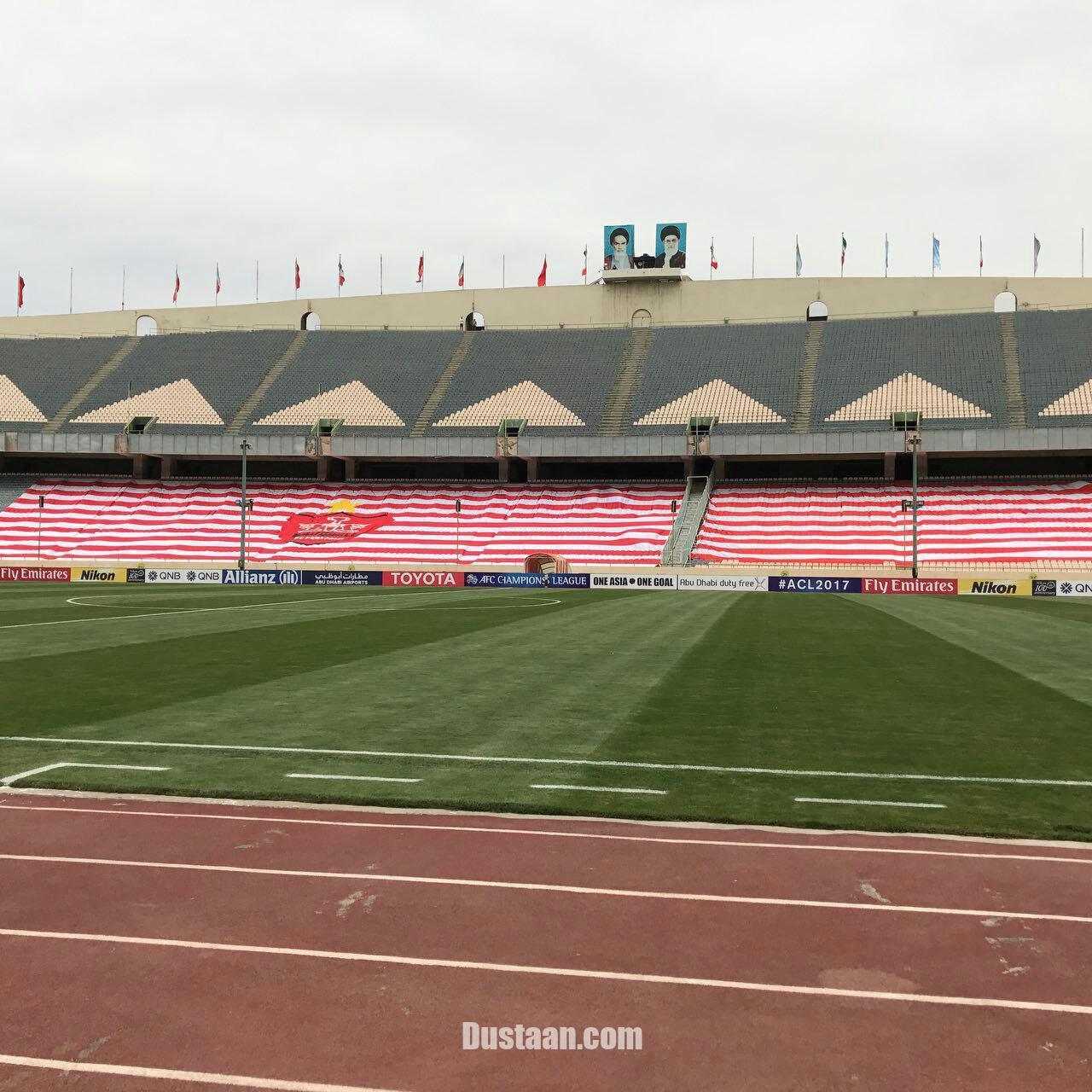 www.dustaan.com پرچمها جانشین هوادران پرسپولیس شدند! +عکس