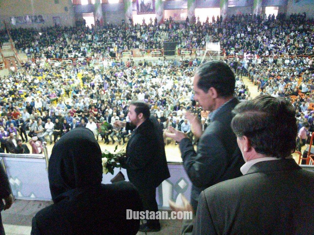 www.dustaan.com اعضای ستاد رئیسی در جشن حامیان روحانی +عکس