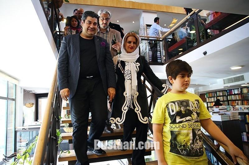 www.dustaan.com شباهت جالب سالار عقیلی به پسرش +تصاویر