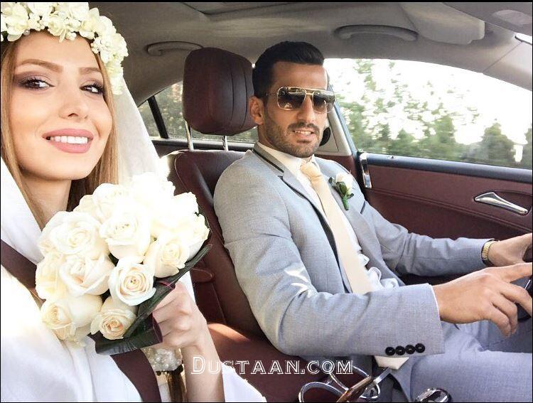 www.dustaan.com جزئیات ازدواج احسان حاج صفی + عکس های همسرش