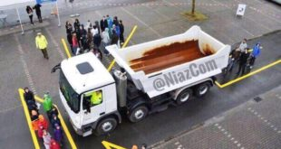 عکس: نقاط کور رانندگان کامیون