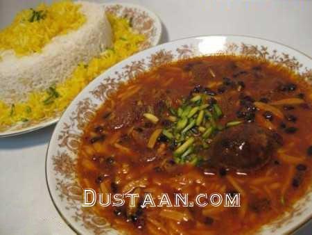 طرز تهیه خورش خلال بادام ؛ غذای سنتی کرمانشاه