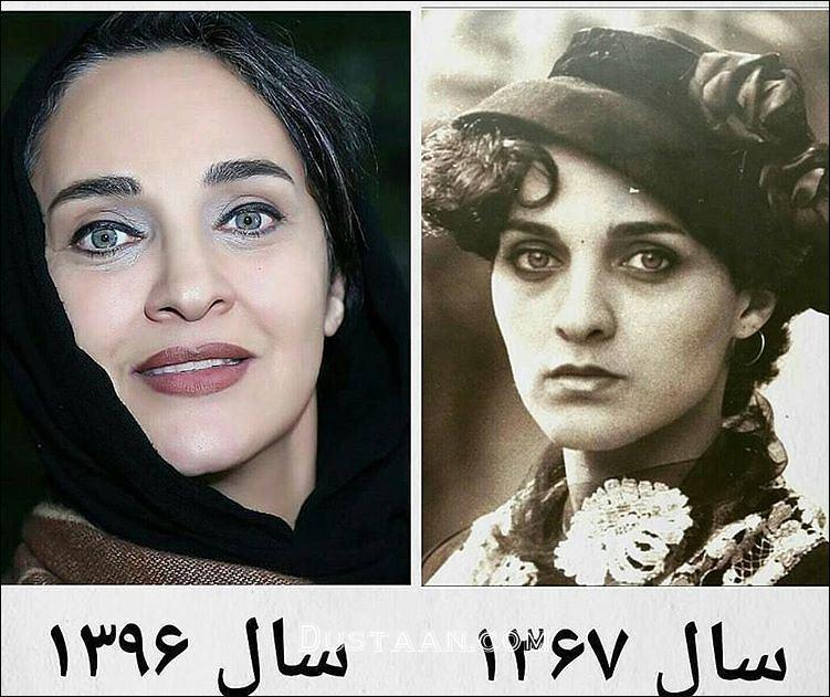 www.dustaan.com چهره زیبای رویا نونهالی در 19 سال پیش! +بیوگرافی و تصاویر