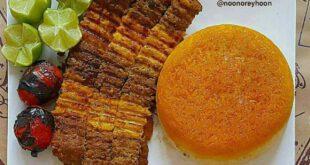 طرز تهیه کباب تابه ای دو رنگ؛ خوشمزه و لذیذ!