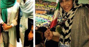 الهه منصوریان و ترلان پروانه در ورزشگاه 12 هزار نفری آزادی +تصاویر
