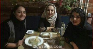عکس: سارا محمدی در کنار مادر و خواهرش!