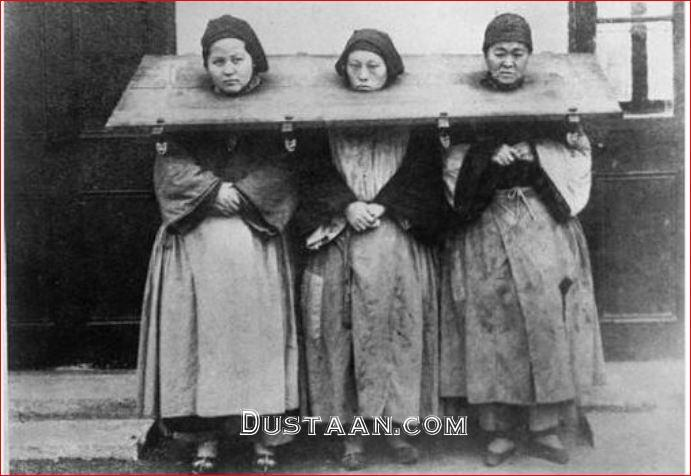 www.dustaan.com تنبیه زنان به سبک چینی ها! +عکس