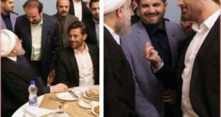 محمدرضا گلزار در ضیافت افطار رئیس جمهور +عکس