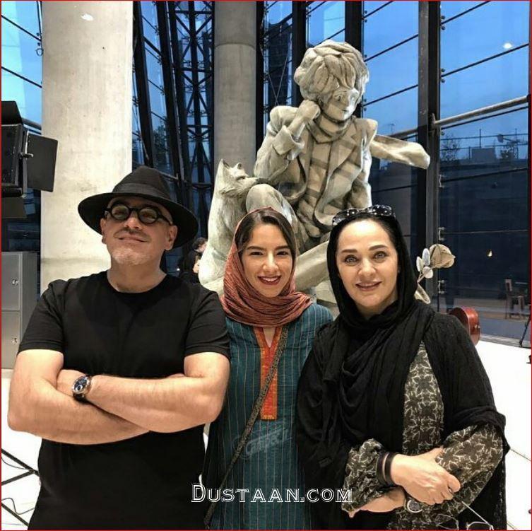 بیوگرافی و عکس های زیبای رویا نونهالی ، همسرش رامین حیدری و دخترش خاتون