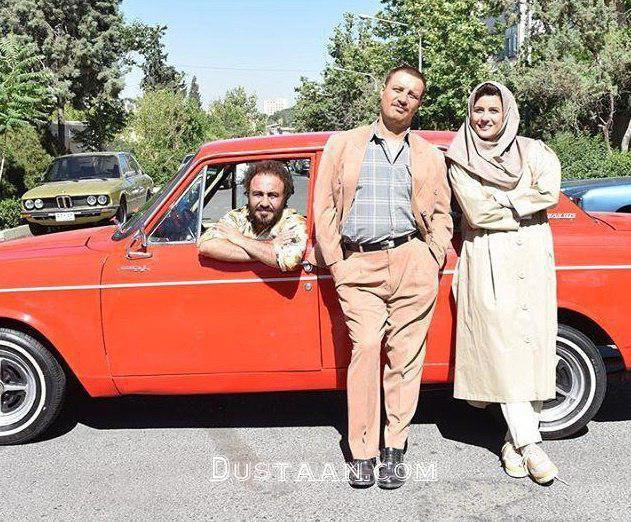 www.dustaan.com رضا عطاران و جواد عزتی در نمایی از فیلم «هزارپا» +عکس