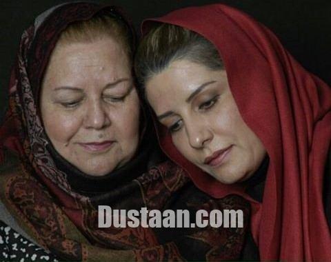 www.dustaan.com سلفی زیبای فریبا کوثری در کنار مادرش