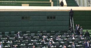 صحن مجلس در هنگام حمله تروریستی/عکس