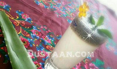 www.dustaan.com مواد لازم برای تهیه شربت آلوئه ورا در خانه +آموزش