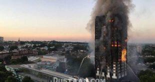 تصاویر: آتش نشانان حادثه برج گرنفل لندن