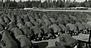 نماز جماعت در ارتش هیتلر /عکس