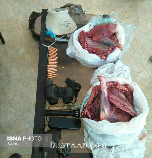 www.dustaan.com دستگیری شکارچیان غیرمجاز در شهرستان خمیر +عکس