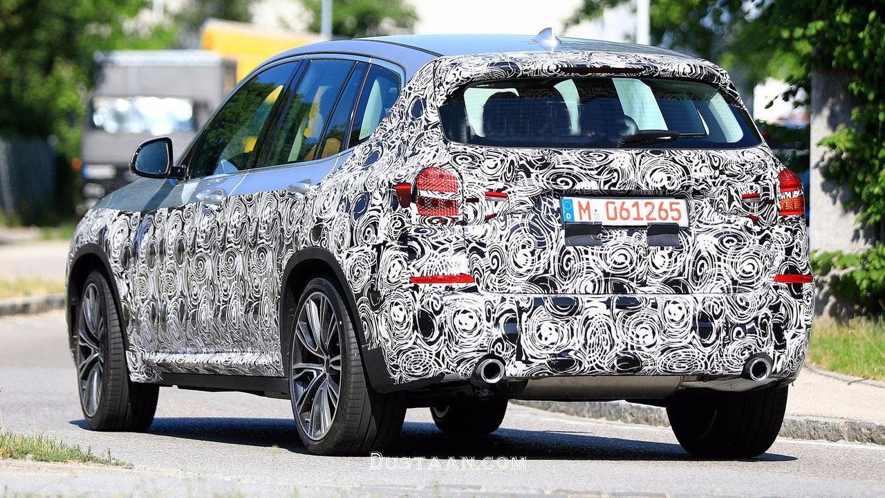 www.dustaan.com جدیدترین تصاویر منتشر شده از مدل BMW X3