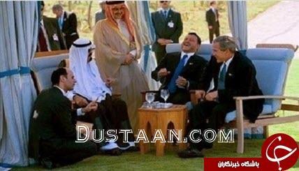 www.dustaan.com عکس: حرکت خفت بار عادل الجبیر  مقابل بوش