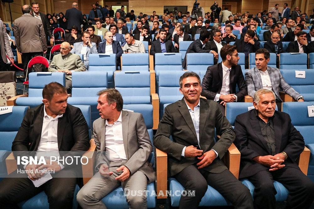 www.dustaan.com گزارش تصویری : رییس جمهور در ضیافت افطار ورزشکاران