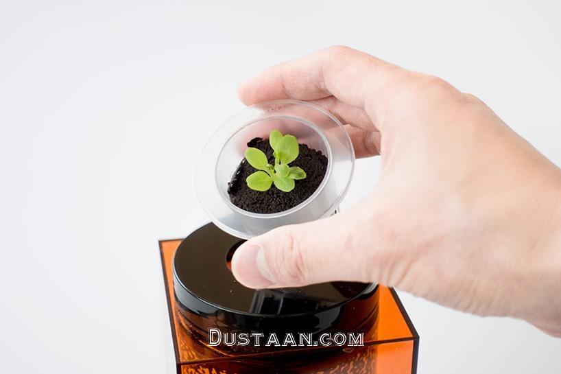 www.dustaan.com گلدان های مخصوص ناسا برای نگهداری از گیاهان در فضا +تصاویر