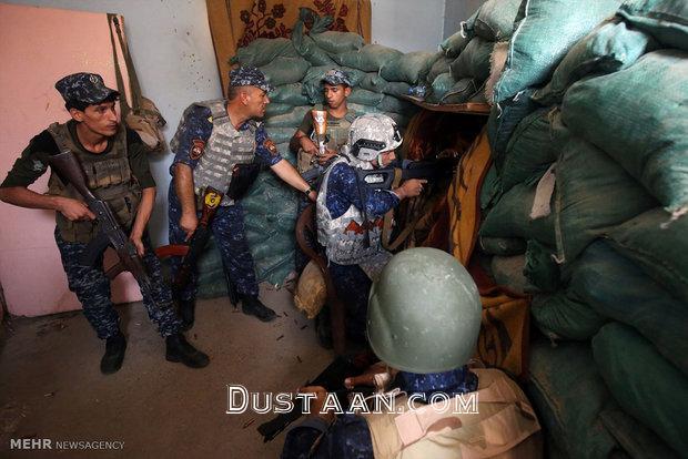 www.dustaan.com پیشروی های نیروهای عراقی به سمت بخش قدیمی موصل +تصاویر