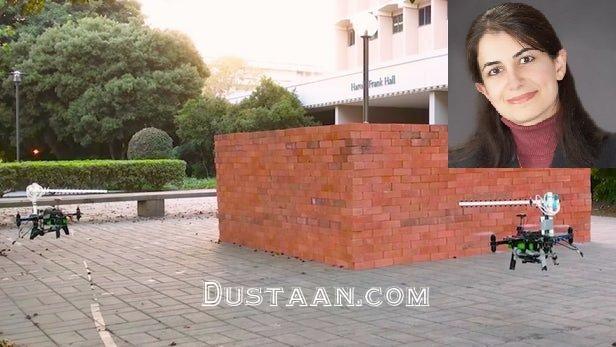 www.dustaan.com تصویربرداری سه بعدی از اجسام پشت دیوار با پهپاد