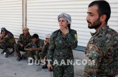 www.dustaan.com دختران جوان کُرد در نبرد با داعشی ها +تصاویر