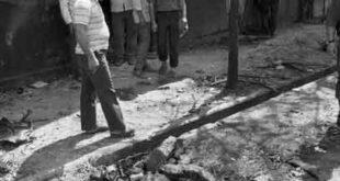 انفجار بمب در خیابان ۱۷شهریور/تصاویر