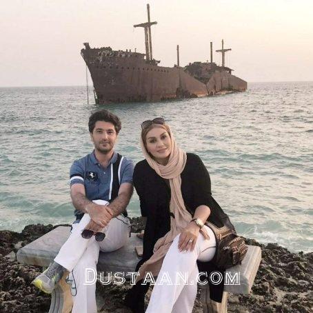 www.dustaan.com خوشگذرانی امیرحسین مدرس و همسرش در جزیره کیش! +اتصاویر