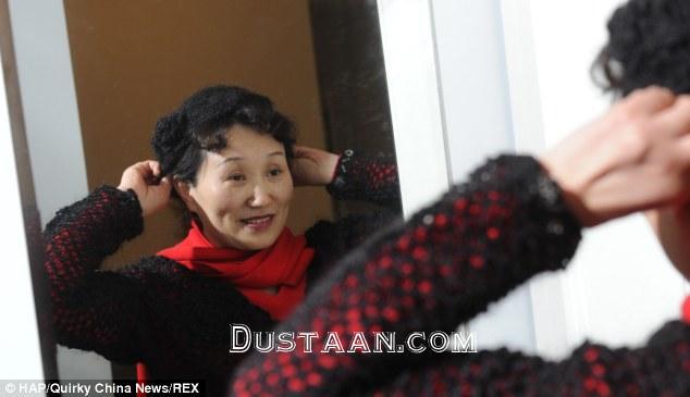 www.dustaan.com بافتن کلاه و پالتو از موهای ریخته شده! +عکس