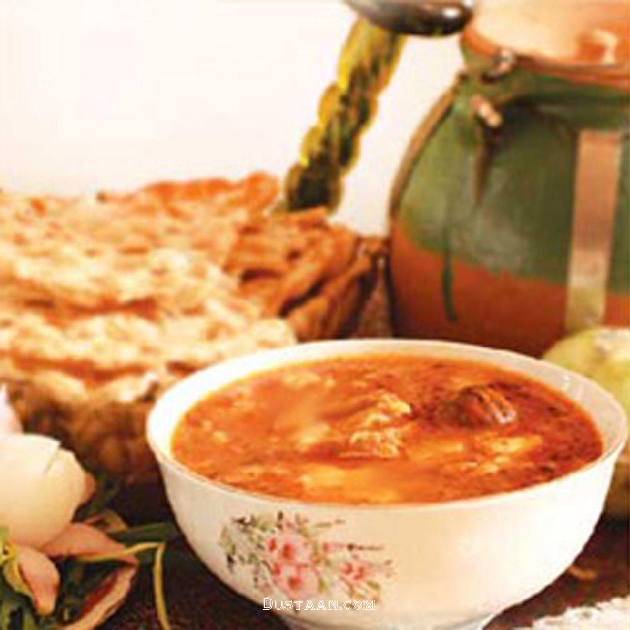 www.dustaan.com طرز تهیه آبگوشت لپه به سبکی آسان و خوشمزه