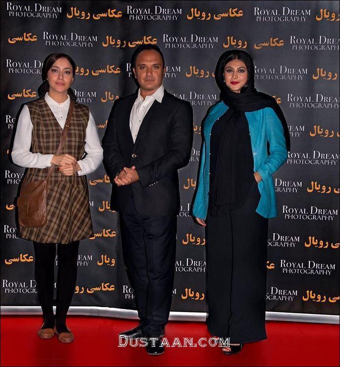 www.dustaan.com آزاده صمدی،احسان کرمی و بهاره کیان افشار در کانادا +عکس