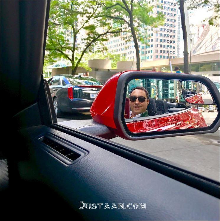 www.dustaan.com امیرحسین رستمی سوار بر خودروی لاکچری اش!