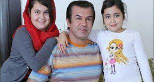 عکسی زیبا از حمید استیلی به همراه دخترانش
