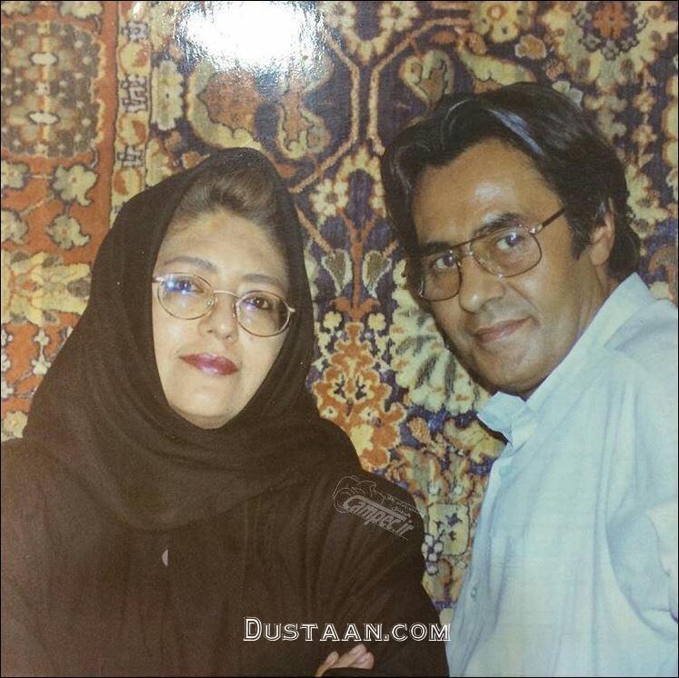 www.dustaan.com زنده یاد خسرو شکیبایی و همسرش پروین کوشیار
