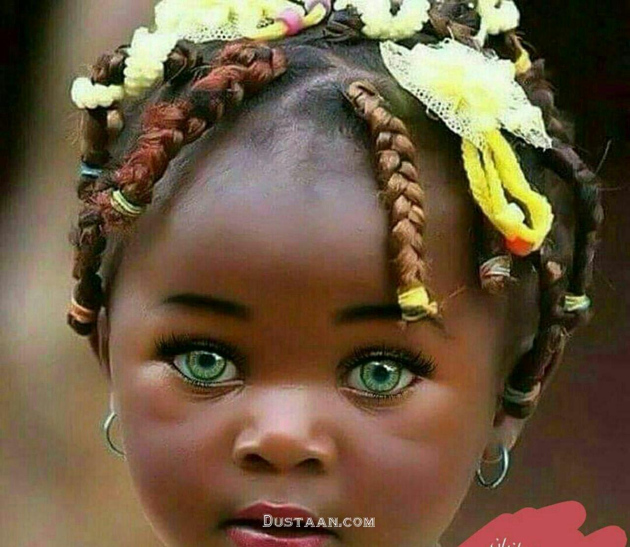 www.dustaan.com دختری که زیباترین چشمان جهان را دارد! +عکس