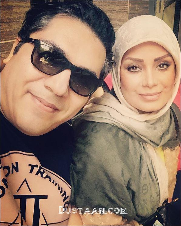 www.dustaan.com 3 عکس جدید و زیبا از صبا راد و همسرش مانی رهنما