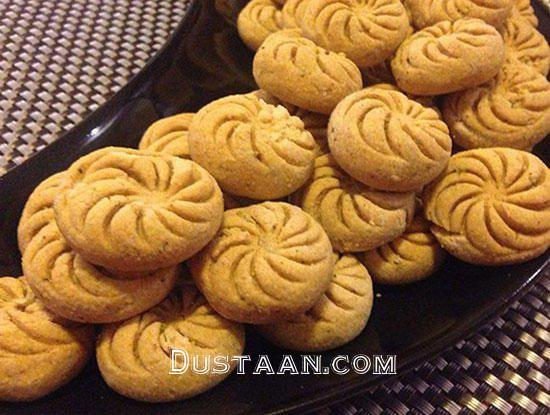 www.dustaan.com طرز تهیه شیرینی نخودچی به سبکی خوشمزه
