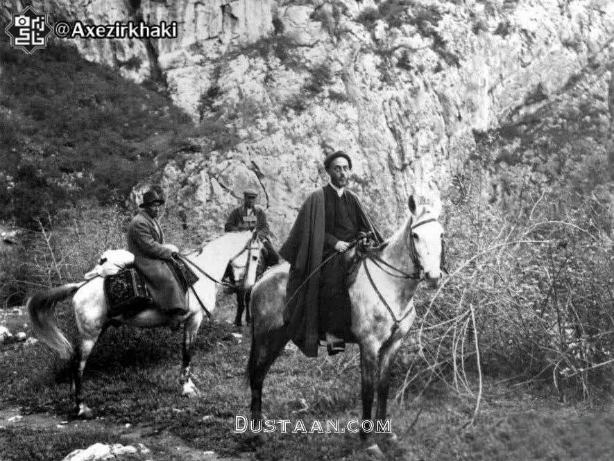 www.dustaan.com تصویری از علامه طباطبایی (ره) در دوران جوانی