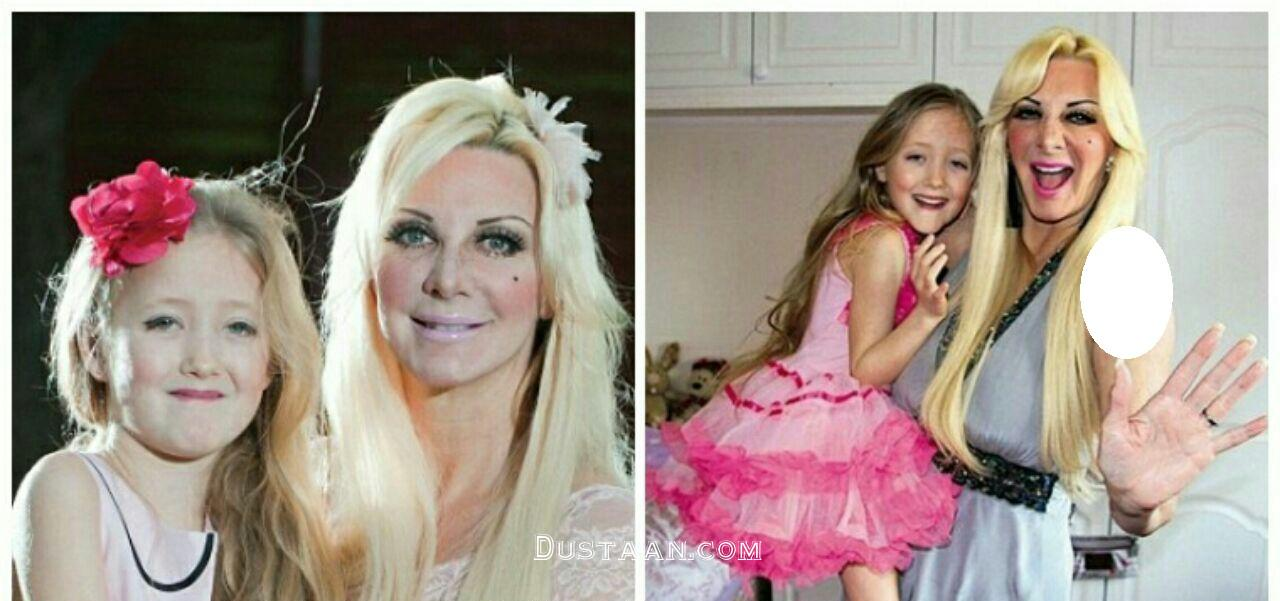 www.dustaan.com اعتیاد عجیب مادر آمریکایی به عمل های زیبایی! +عکس