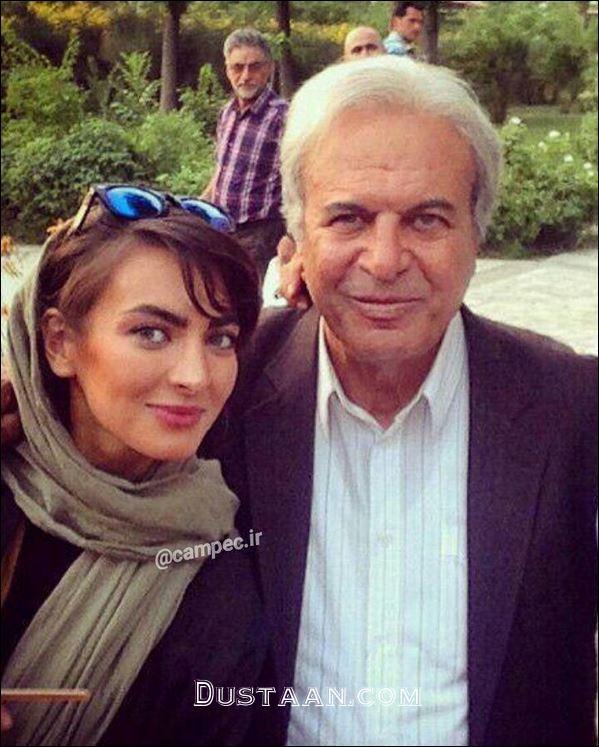 www.dustaan.com غلامرضا نیکخواه در کنار دخترش +عکس