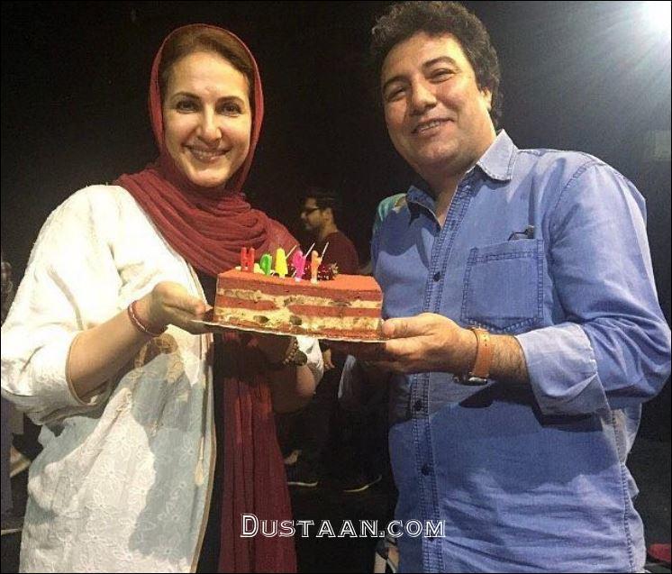 www.dustaan.com فاطمه گودرزی در تولد 54 سالگی اش +عکس