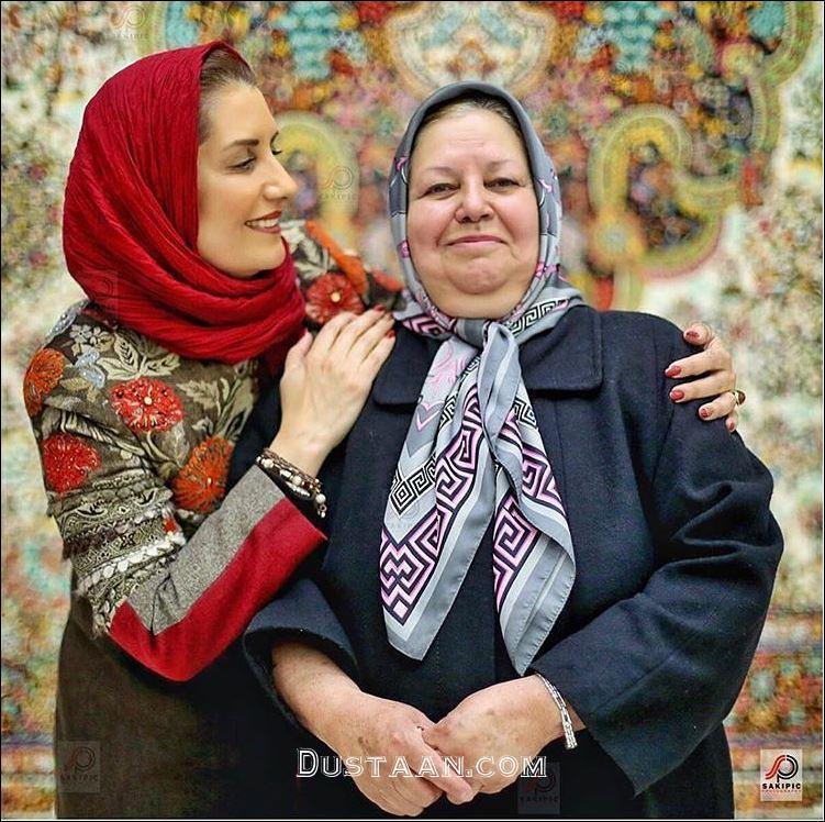 شباهت جالب فریبا کوثری و مادرش به هم! +عکس