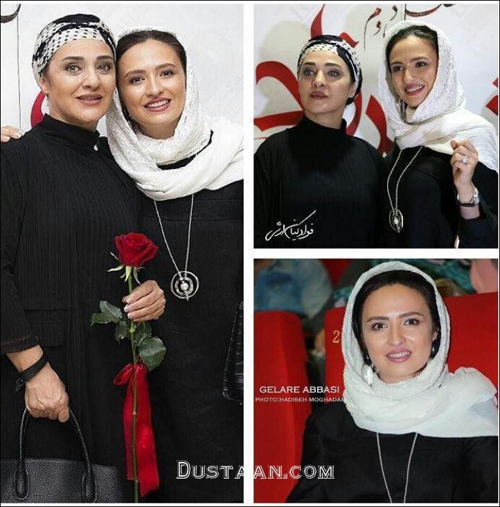 www.dustaan.com تیپ دیدنی گلاره عباسی و رویا نونهالی +عکس